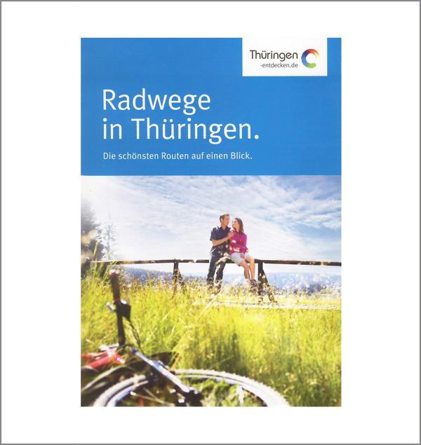 Radwege in Thüringen