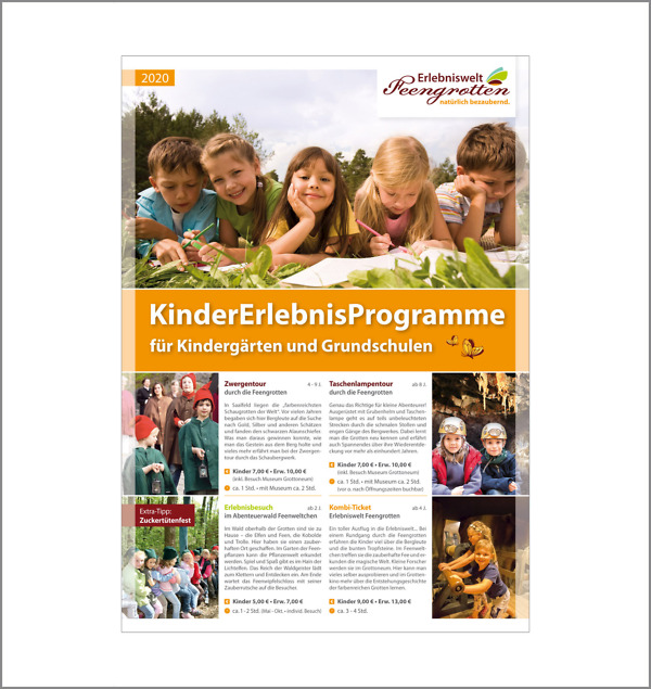 Angebote für Kindergruppen 2020